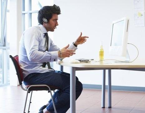 entretien d'embauche avec Skype