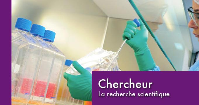 chercheur dans la recherche scientifique