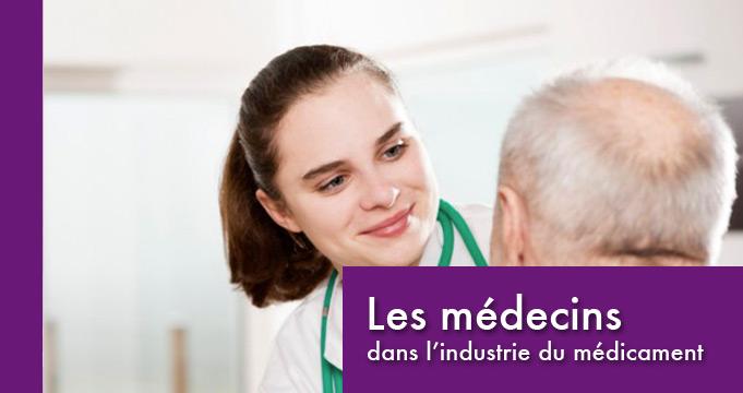 Les médecins dans l'industrie du médicament