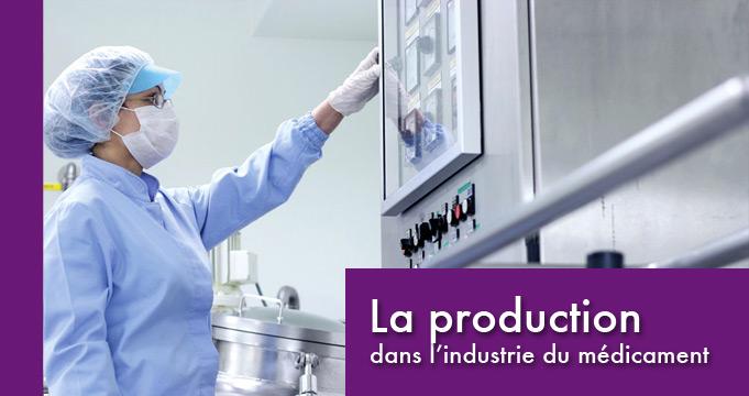 Les responsables de production de l'industrie du médicament