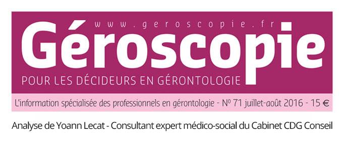 Recrutement en EHPAD - Géroscopie