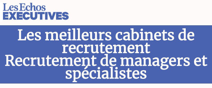 Les Echos : executive recruitement