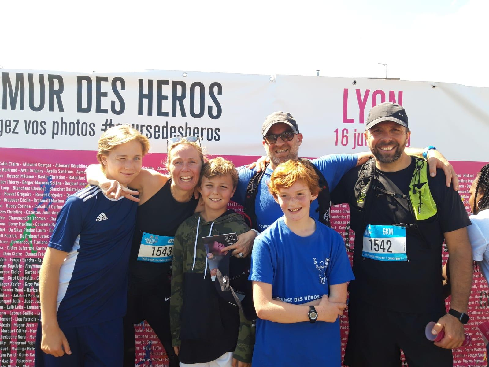 Course des héros Lyon 2019
