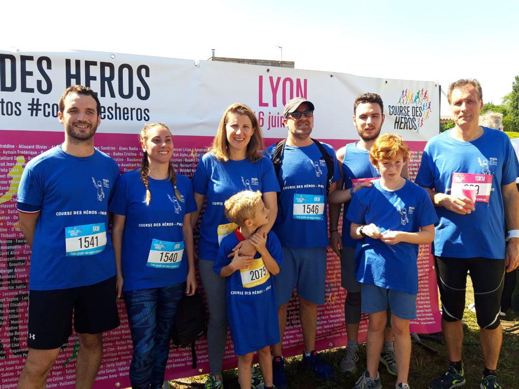 Course des héros 2019 Lyon