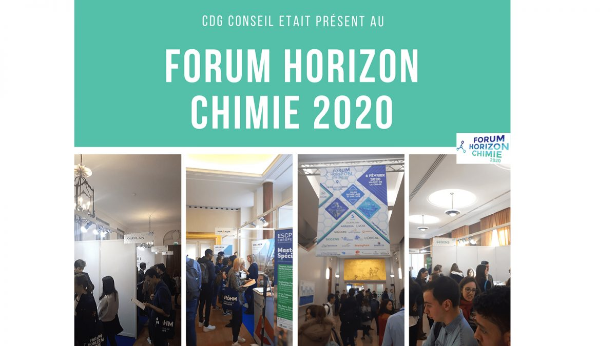 Forum Horizon Chimie 2020 - CDG Conseil