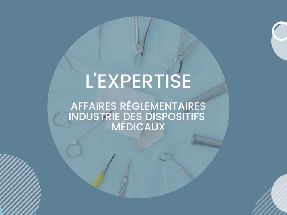 L'Expertise affaires réglementaires Industie pharmaceutique